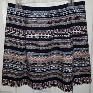 J Crew Factory Lined Mini Skirt - Size 10